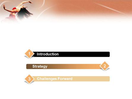 Ballet Dance PowerPoint Template, Slide 3, 01449, Art & Entertainment — PoweredTemplate.com