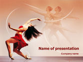 Art & Entertainment: Ballet Dance PowerPoint Template #01449