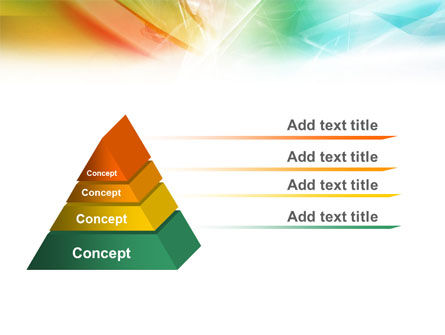 Mixed Colors PowerPoint Template Slide 10