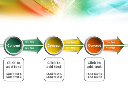 Mixed Colors PowerPoint Template Slide 11