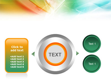 Mixed Colors PowerPoint Template Slide 12