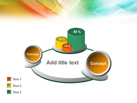 Mixed Colors PowerPoint Template Slide 14