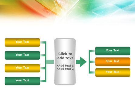 Mixed Colors PowerPoint Template Slide 16