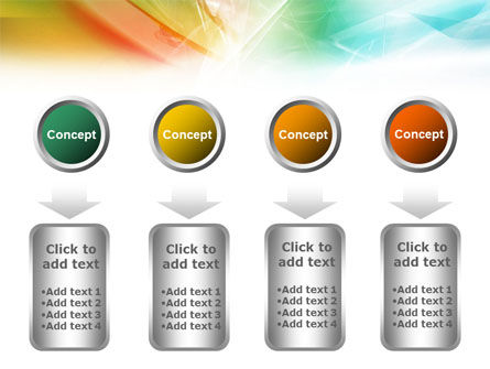 Mixed Colors PowerPoint Template Slide 18