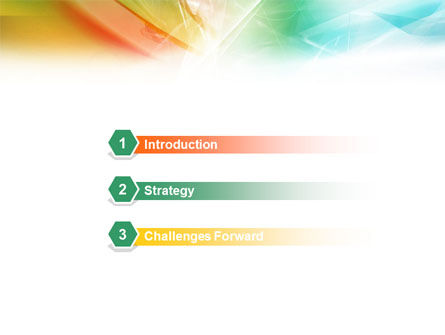 Mixed Colors PowerPoint Template, Slide 3, 01455, Abstract/Textures — PoweredTemplate.com