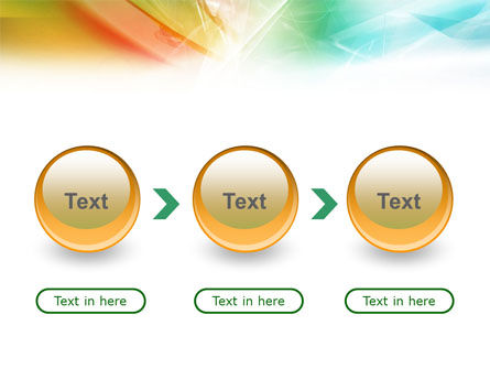 Mixed Colors PowerPoint Template Slide 5