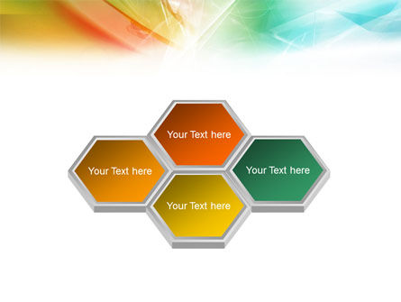 Mixed Colors PowerPoint Template Slide 6