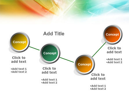 Mixed Colors PowerPoint Template Slide 7