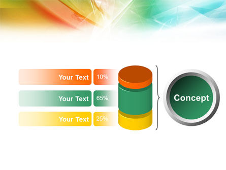Mixed Colors PowerPoint Template Slide 8