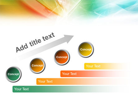 Mixed Colors PowerPoint Template Slide 9