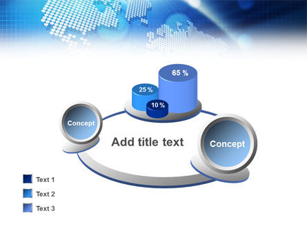 Global Technologies PowerPoint Template Slide 12