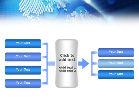 Global Technologies PowerPoint Template Slide 14