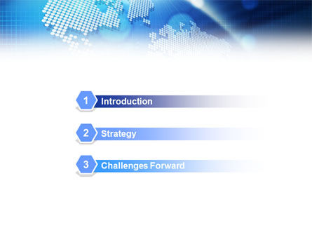 Global Technologies PowerPoint Template, Slide 3, 01456, Global — PoweredTemplate.com