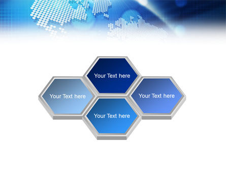Global Technologies PowerPoint Template, Slide 4, 01456, Global — PoweredTemplate.com