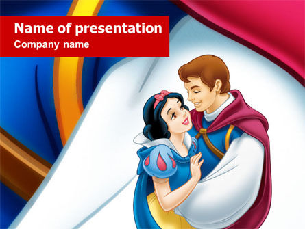 Chlodren's Cartoons PowerPoint Template, 01457, Art & Entertainment — PoweredTemplate.com