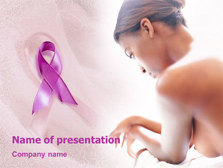 Medical: Breast Cancer PowerPoint Template #01459