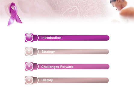 Breast Cancer PowerPoint Template, Slide 3, 01459, Medical — PoweredTemplate.com