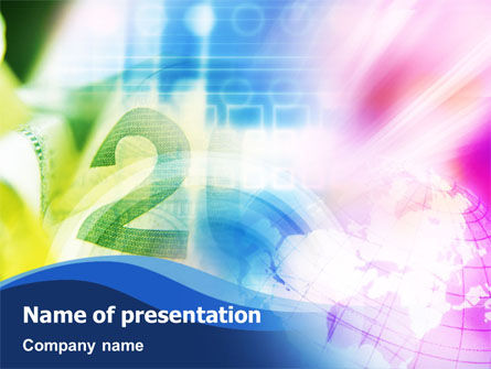 Global Numbers PowerPoint Template