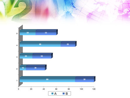 Global Numbers PowerPoint Template Slide 17