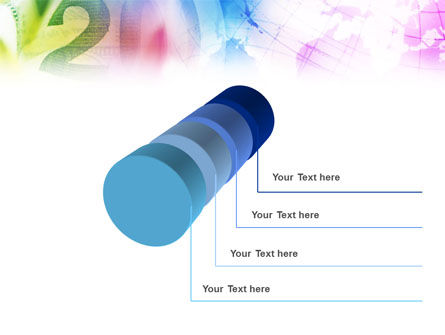 Global Numbers PowerPoint Template Slide 7