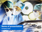 Medical: Surgical Operation PowerPoint Template #01461