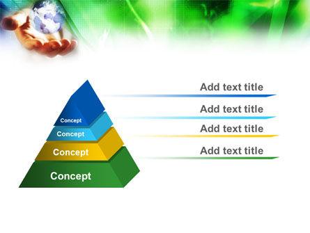 World in Hand PowerPoint Template Slide 10