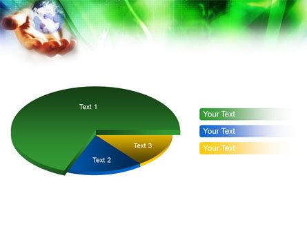 World in Hand PowerPoint Template Slide 16