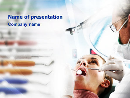 Stomatology Check PowerPoint Template