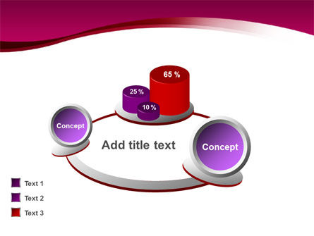 Crimson Waves PowerPoint Template Slide 11