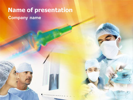 Medical: Medical Assistance PowerPoint Template #01465