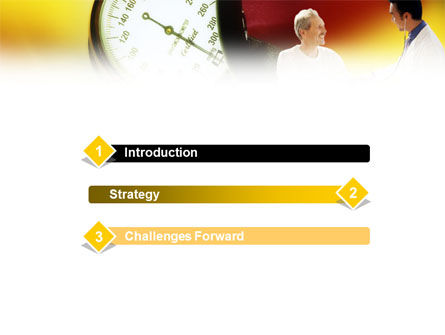 Blood Pressure Normalizing PowerPoint Template, Slide 3, 01467, Medical — PoweredTemplate.com