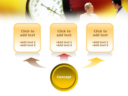 Blood Pressure Normalizing PowerPoint Template, Slide 4, 01467, Medical — PoweredTemplate.com