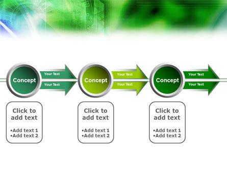 Digital Ornament PowerPoint Template Slide 14