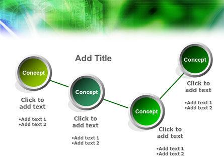 Digital Ornament PowerPoint Template Slide 8
