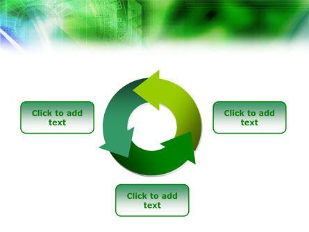 Digital Ornament PowerPoint Template Slide 9