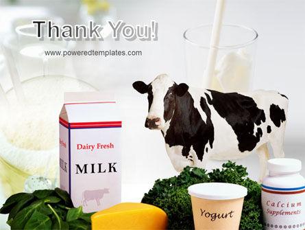 Milk Production PowerPoint Template Slide 20