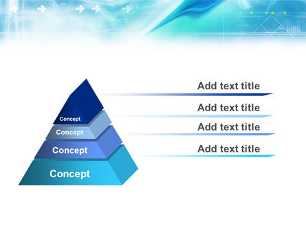 Abstract Light Blue PowerPoint Template Slide 12