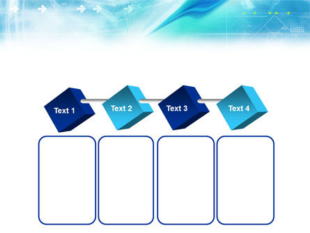 Abstract Light Blue PowerPoint Template Slide 18
