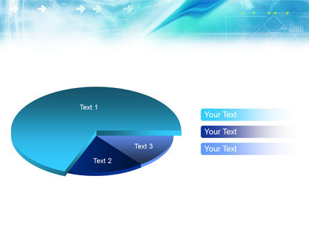 Abstract Light Blue PowerPoint Template Slide 19