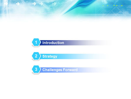Abstract Light Blue PowerPoint Template, Slide 3, 01471, Abstract/Textures — PoweredTemplate.com