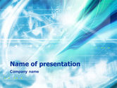 Abstract/Textures: Abstract Light Blue PowerPoint Template #01471