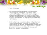 Floriculture and Gardening PowerPoint Template#2
