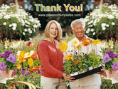 Floriculture and Gardening PowerPoint Template#20