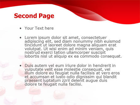 Woman & Heart PowerPoint Template, Slide 2, 01474, Holiday/Special Occasion — PoweredTemplate.com