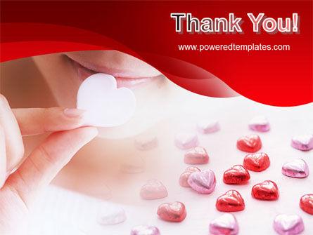 Woman & Heart PowerPoint Template Slide 20