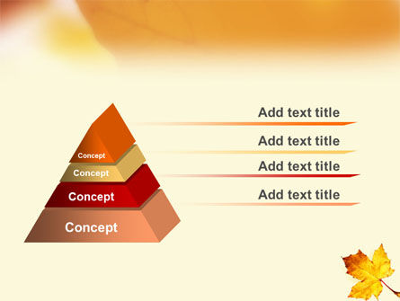 Fall Leaf PowerPoint Template Slide 12