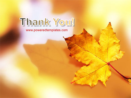 Fall Leaf PowerPoint Template Slide 20