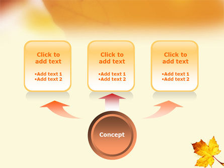 Fall Leaf PowerPoint Template Slide 4