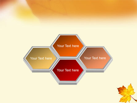 Fall Leaf PowerPoint Template Slide 6