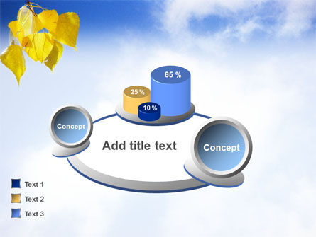 Yellow Leaves PowerPoint Template Slide 13